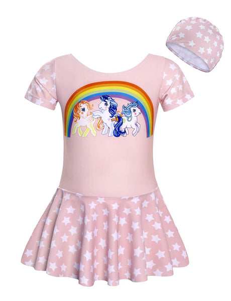 unicorn swimsuit dress