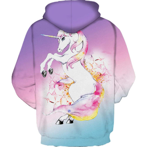 Unicorn Sweatshirt Women Hoodie Jumper