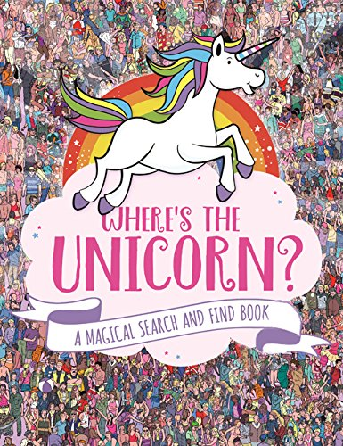 Where's the Unicorn Book? Find and search book. Unicorn lovers, gift idea.