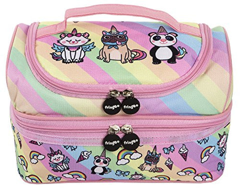 Super Cute Unicorn Team Multi-Compartment Kids Lunch Bag | For School