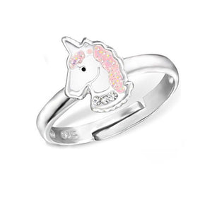 Unicorn Ring 925 Sterling Silver Childrens Ring