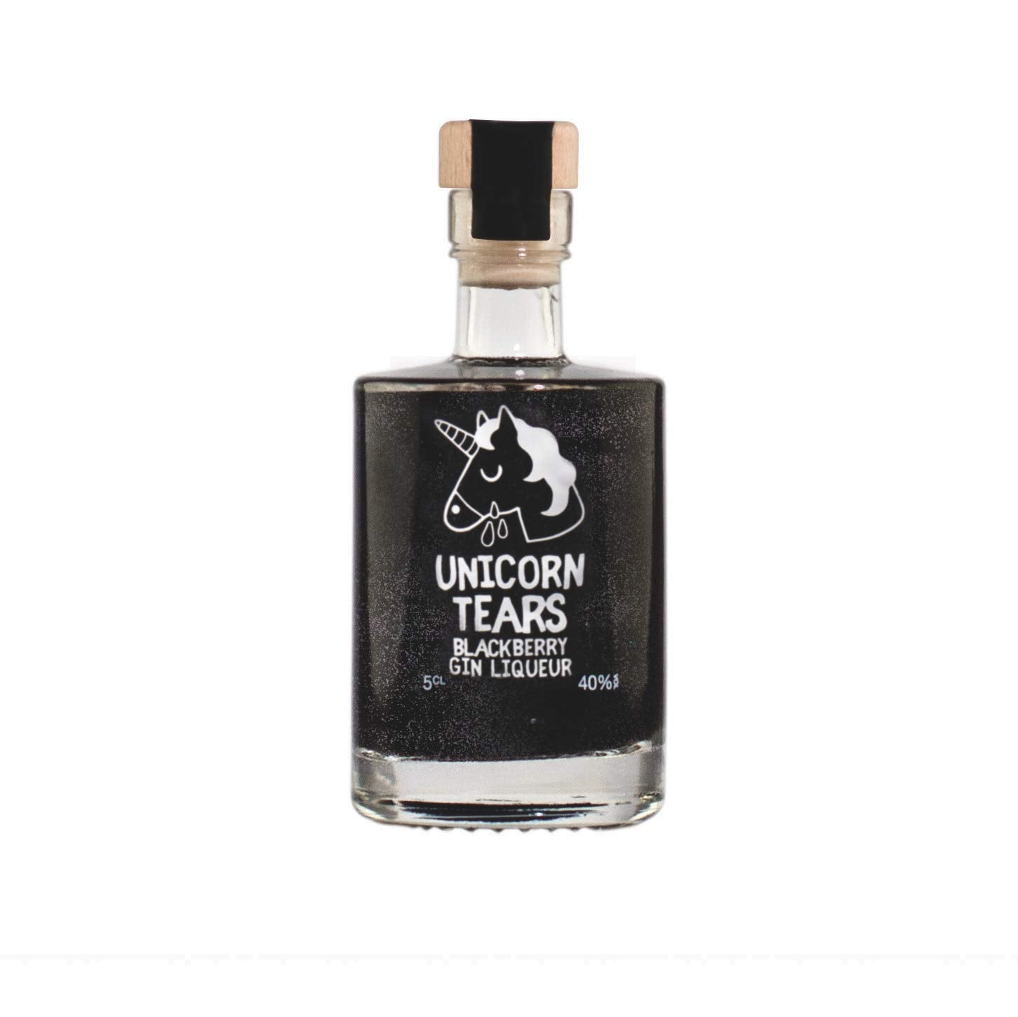 Unicorn Tears Gin - Blackberry Flavour (Miniature)