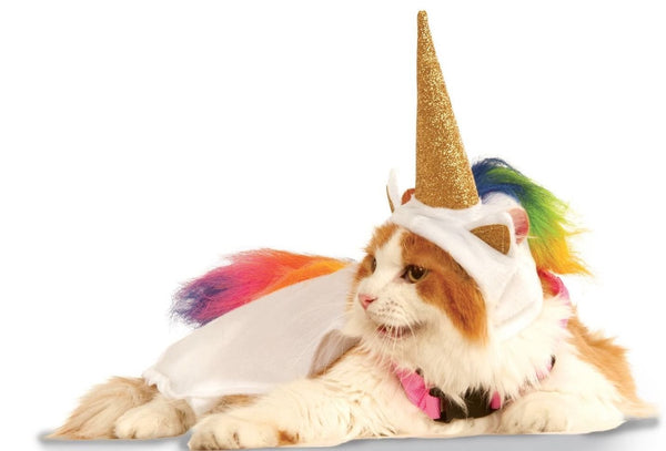 unicorn cat cape costume