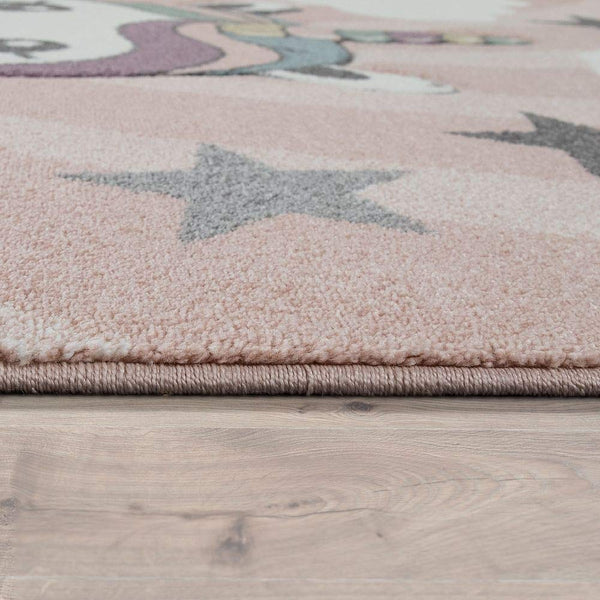 Unicorn rug edging