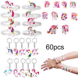 Unicorn party bag 60 piece set