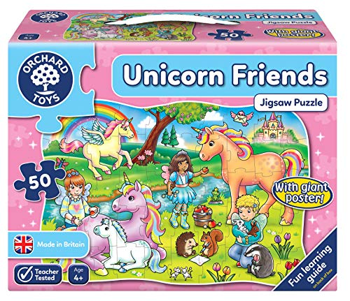 Orchard Toys Unicorn Friends Jigsaw Puzzle