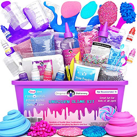 Unicorn Slime Kit Slime Making Kit