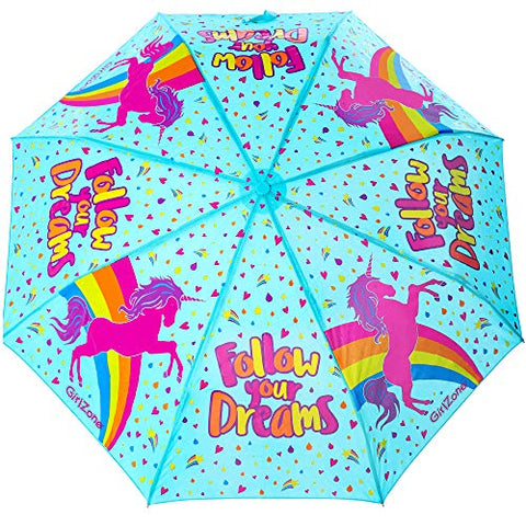 Unicorn Umbrella for Kids Colour Changing | GirlZone