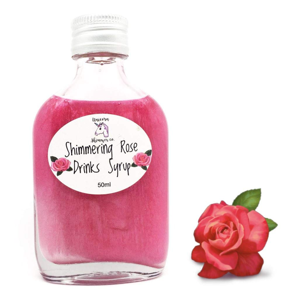 Unicorn Rose Shimmer Syrup - Add to Gin