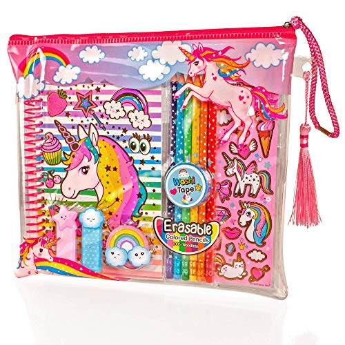 Unicorn stationary set for children arts and crafts