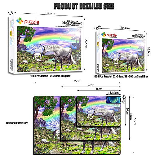 Large Unicorn Jigsaw Puzzles For Adults & Children