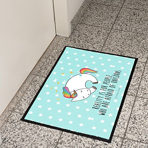 Funny Unicorn Doormat