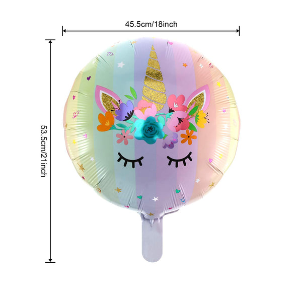 unicorn balloon dimensions