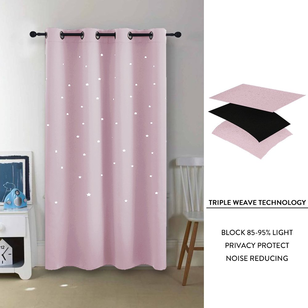 Pony Dance Pink Curtain For Girls Bedroom Curtains With Eyelet Top F All Things Unicorn