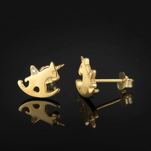 Womens Unicorn Earrings