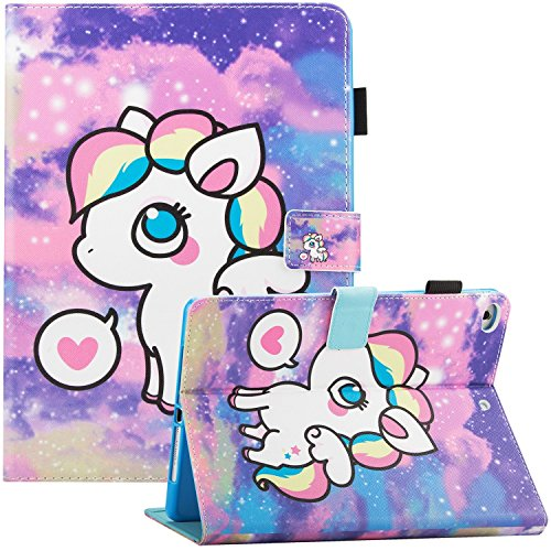 Cute Unicorn iPad Case | For Apple iPad 6th/5th Gen | iPad Air 1, 2