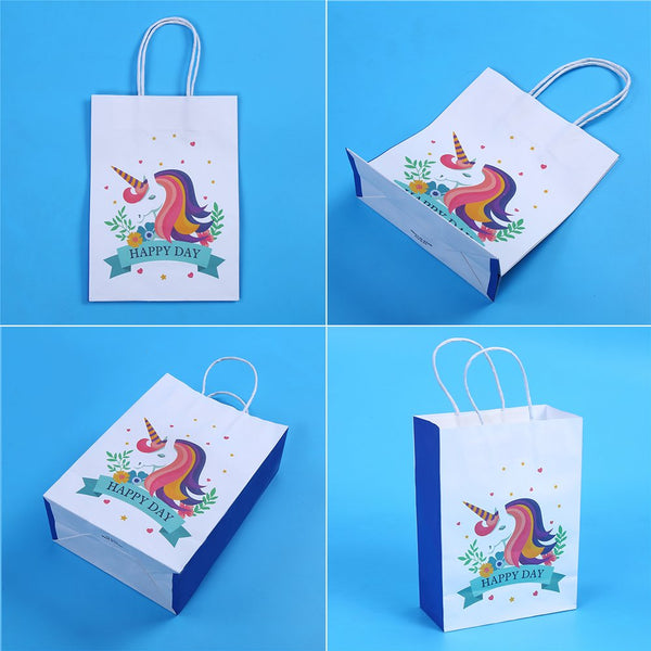 Unicorn Paper Gift Bags Unicorn Party