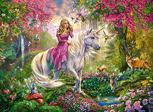 Fairy Unicorn Puzzle children