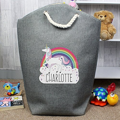 Personalised Unicorn Storage Bag ~ Add your own name