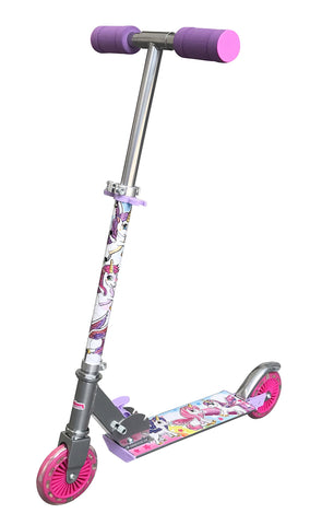 Unicorn Scooter Flashing Wheels