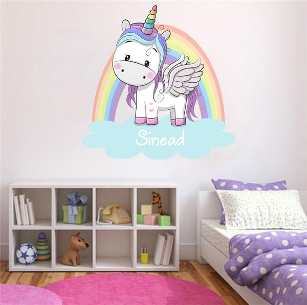 Bedroom wall art unicorn