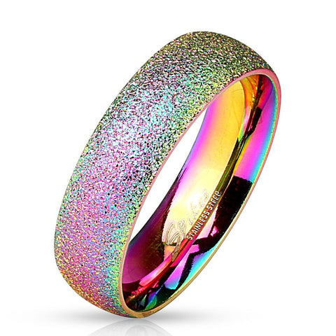 Unicorn Rainbow Ring - Glittery