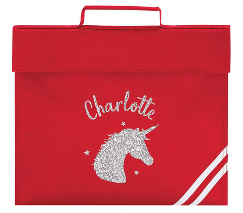 Primary School Bag - Red (Personalised)