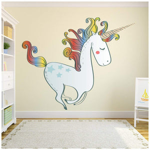 Unicorn wall sticker large decal