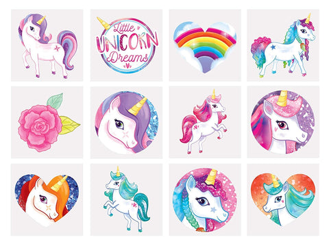 unicorn tatoo party bag fillers
