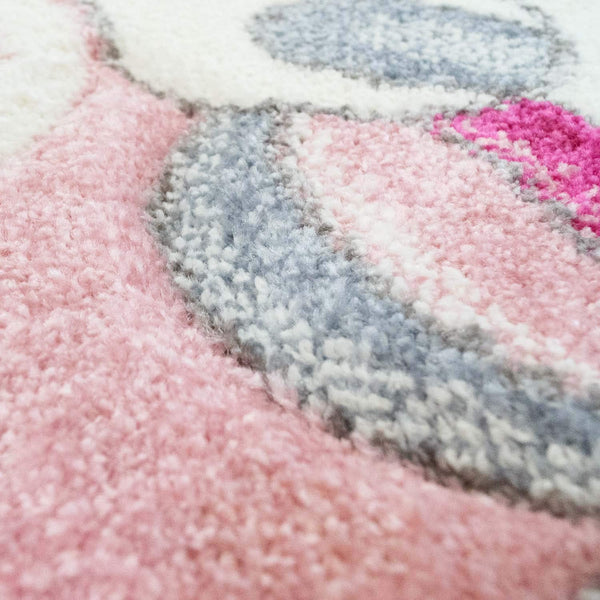 unicorn wool rug