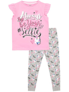 unicorn pj set kids