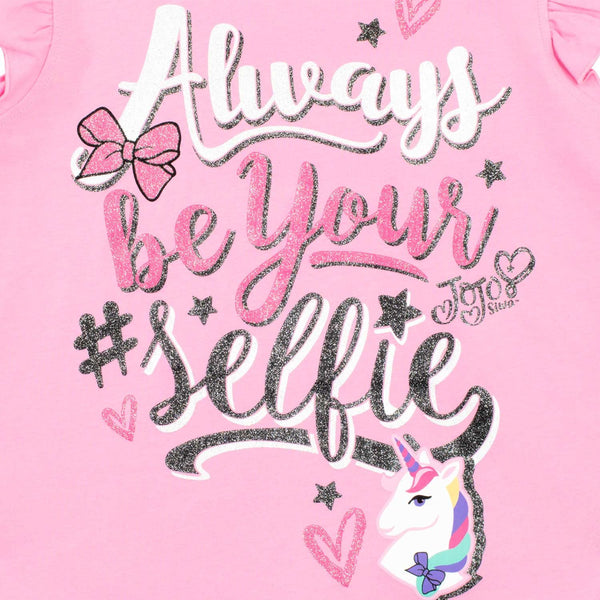JoJo Siwa Girls Selfie Pyjamas Multicoloured Age 5 to 6 Years