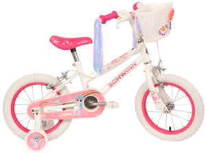 Schwinn White & Pink Unicorn Bike