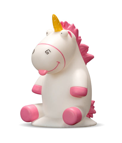 "spicable Me Fluffy Unicorn ""Illumi-mate"" Colour Changing Light, White"