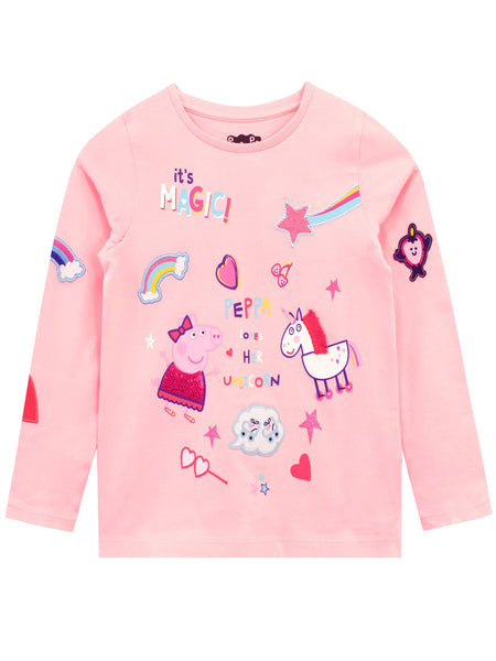 Peppa Pig Style: Girls Hoody, Hooded Jumper, Hoodie, Sweatshirt