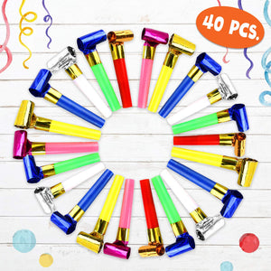 Party Bag Fillers multi coloured party blowers