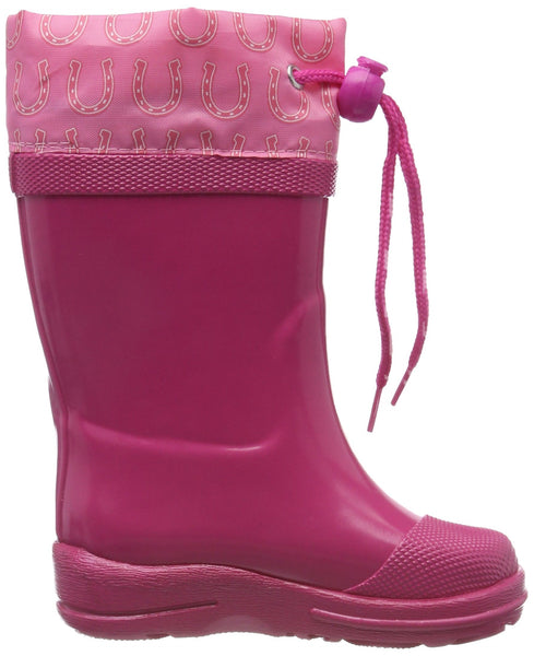 BECK Unicorn Girls Wellington Boots Wellies - Pink