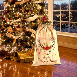 Personalised Santa Christmas Sack Extra Large XL