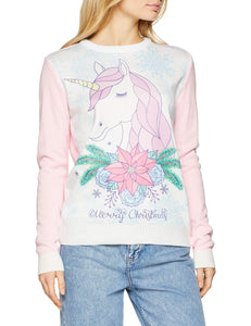 unicorn christmas jumper