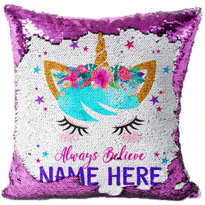 GALAXY PURPLE ALL OVER CUSHION COVER PILLOW CASE FASHION IDEAL GIFT PRESENT