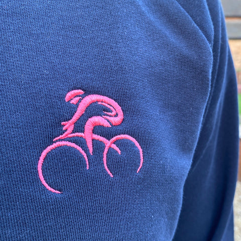 Giro Inspired Embroidered Cyclist Sweatshirt
