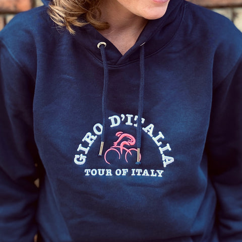 Womens Giro d'Italia Embroidered Hoodie