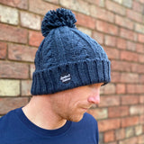 Cable Knit Melange Beanie - Spoke and Solace