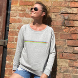 Women's UCI Stripe Sweatshirt