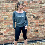 Women's Rest Day Long Sleeve Lounge Tee