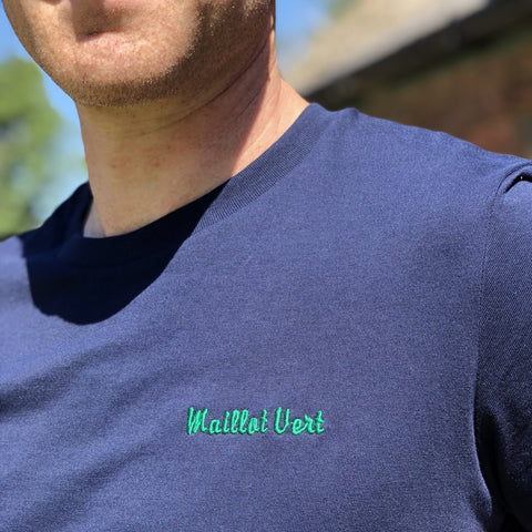 Maillot Vert Embroidered T-Shirt