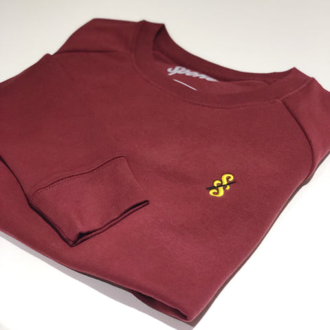 Spoke & Solace Jaune Embroidered Sweatshirt
