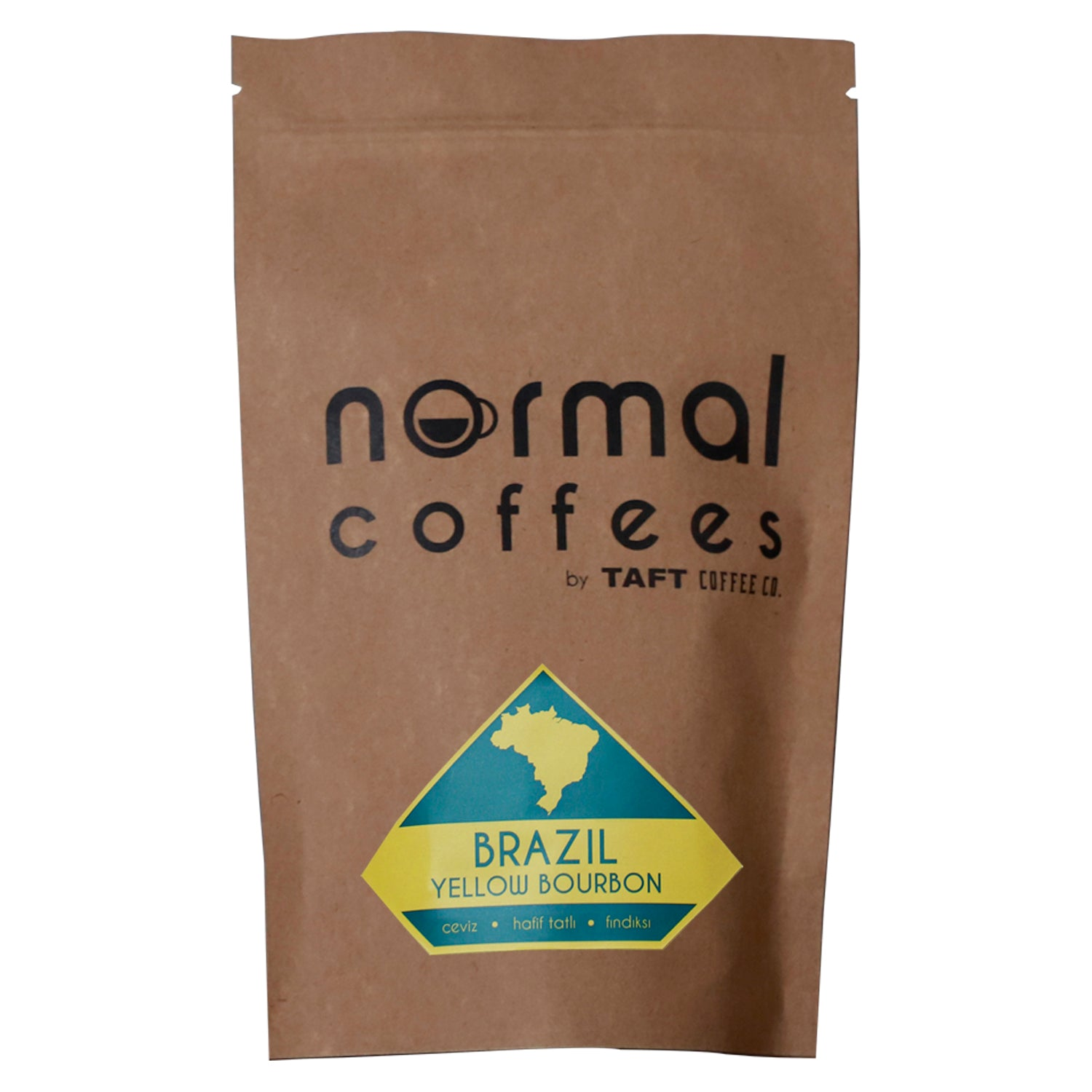 Normal Coffees by TAFT Coffee Co. Brezilya Yellow Bourbon