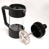 Beyaz zemin üzerinde Taft Coffee Siyah Fame Kitchen French Press