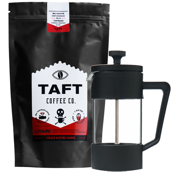 French Press Seti - Taft Coffee